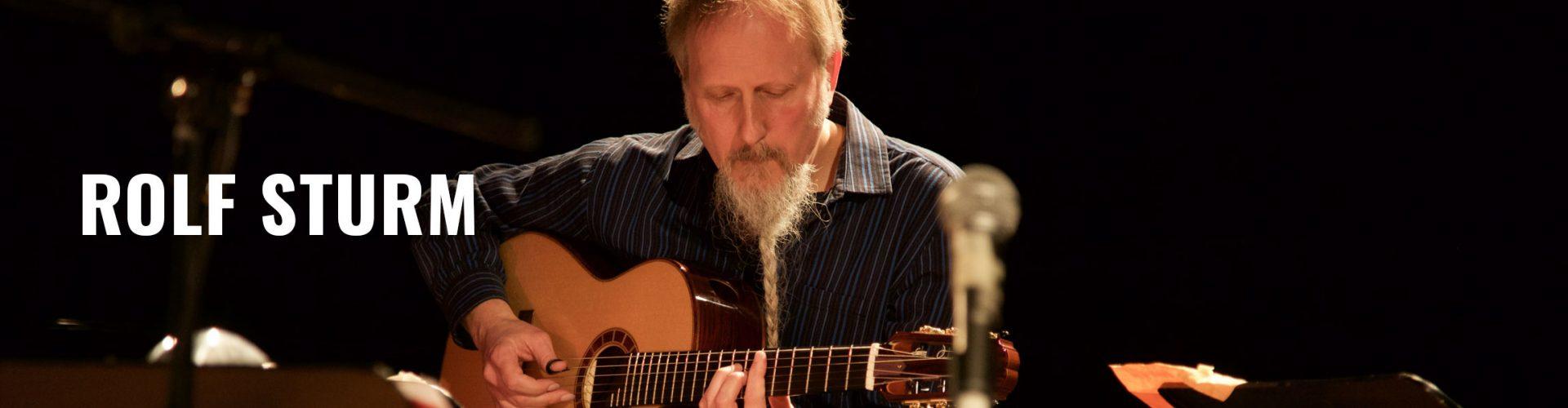 Guitarist Rolf Sturm