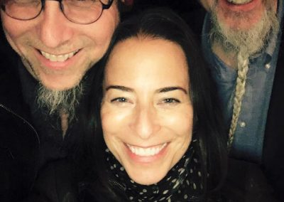 Jeff Coffin, Jenna & Rolf (Photo by Jenna Mammina)