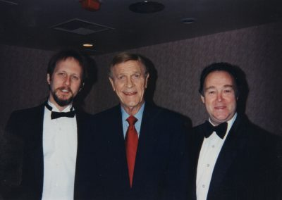 Rolf with Eddy Arnold & Jim Lance (Photo by Lisa Carrie)