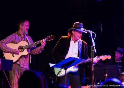 Rolf, Gary Lucas, Aaron Comess (Photo by Scott Friedlander)